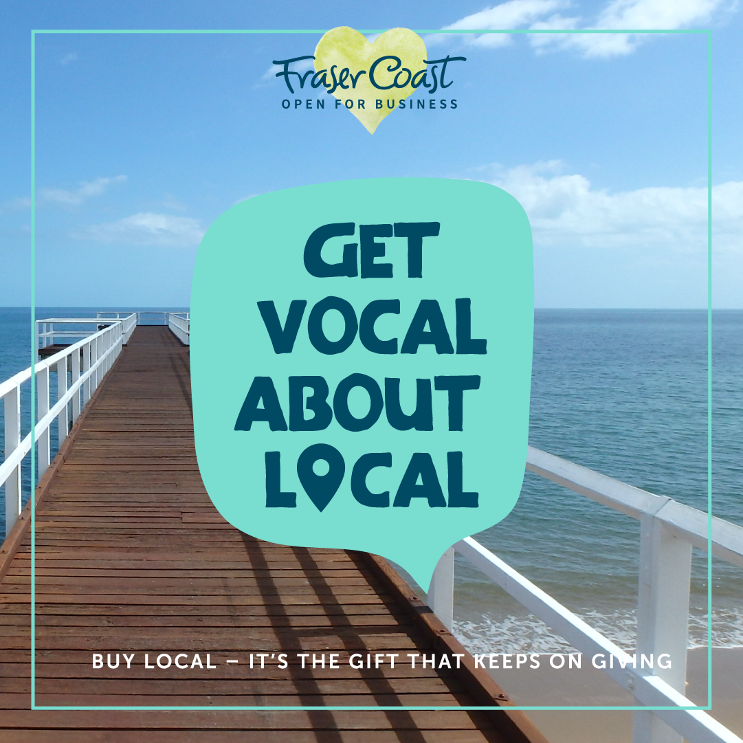 Buy local get vocal