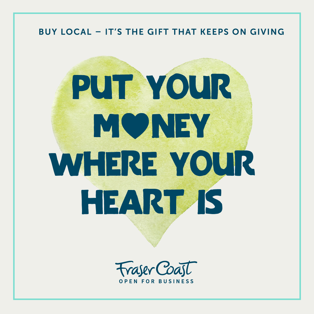Buy local put your heart