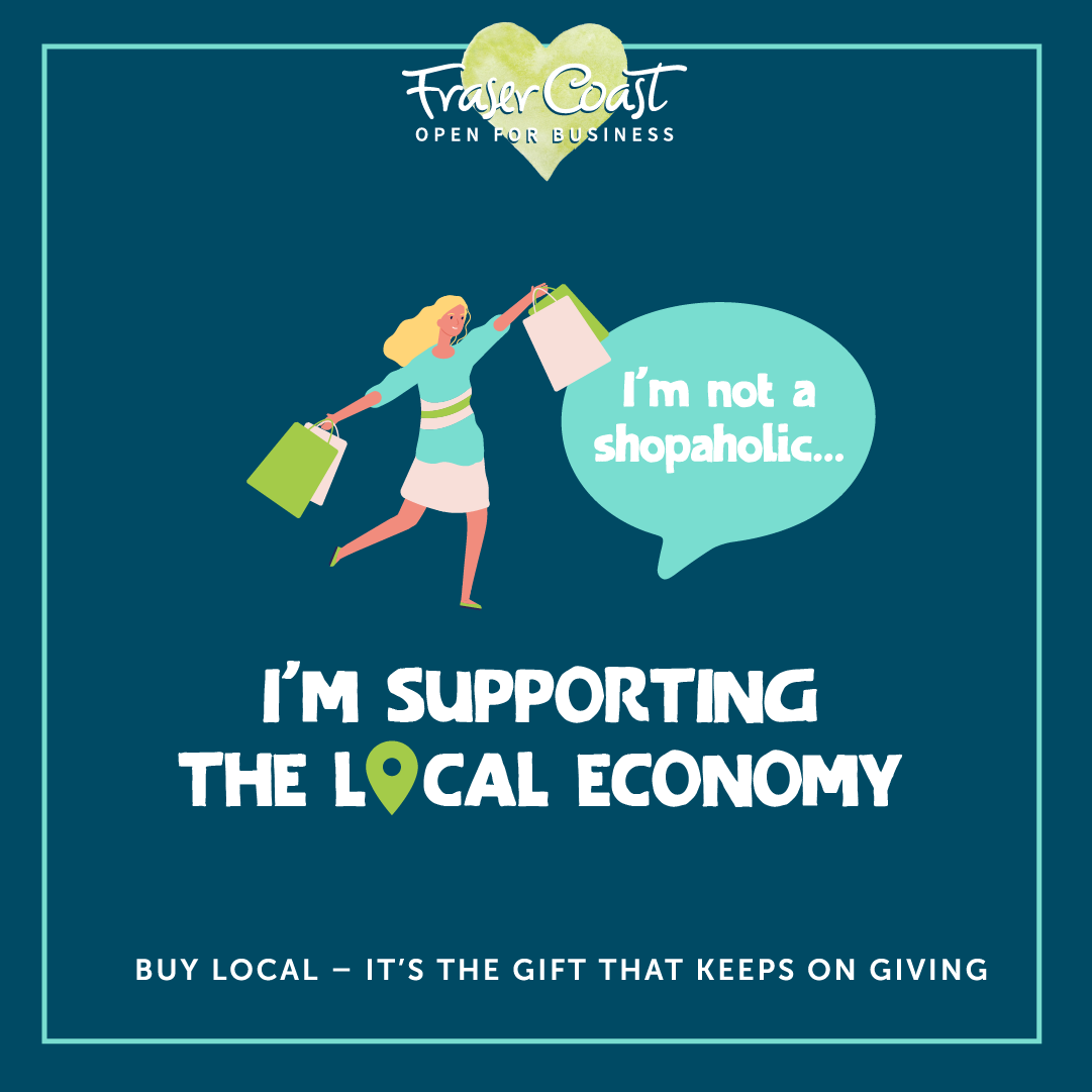 Buy local supporting
